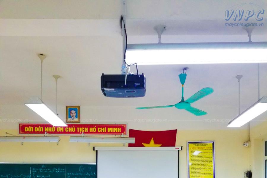 Lắp đặt máy chiếu Optoma PS368 tại Trường THCS Ngũ Hiệp