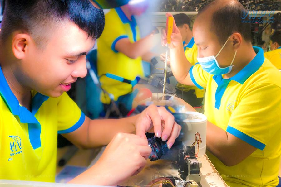 VNPC cung cấp dịch vụ sửa máy chiếu tại Quận 5