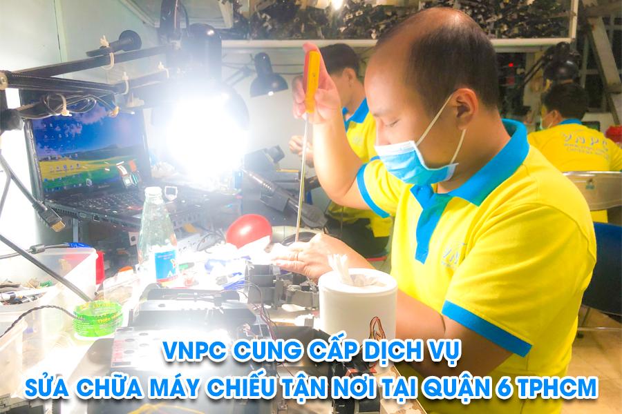Sửa máy chiếu tại quận 6 tphcm