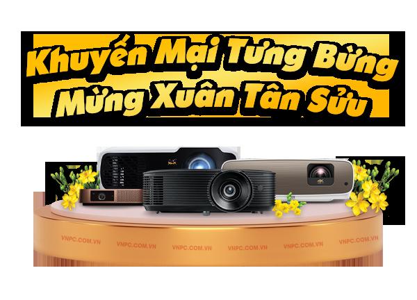 Khuyến mại máy chiếu mừng Tết 2021