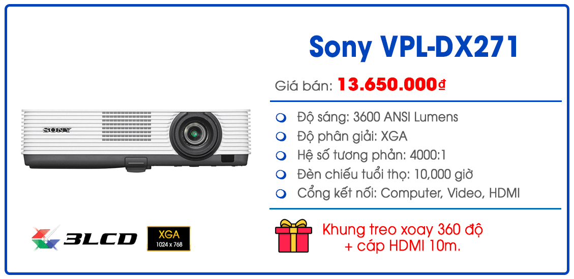 Sony VPL-DX271