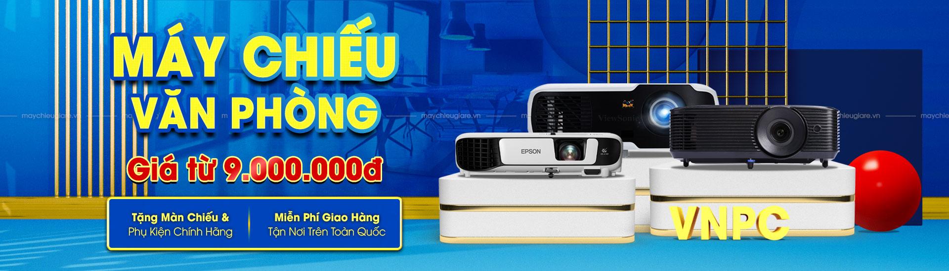 VNPC khuyến mại máy chiếu văn phòng 2021
