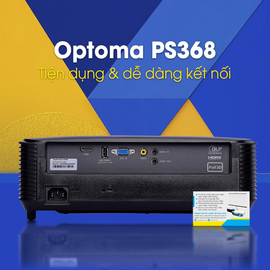 Optoma PS368 phiên bản 2021