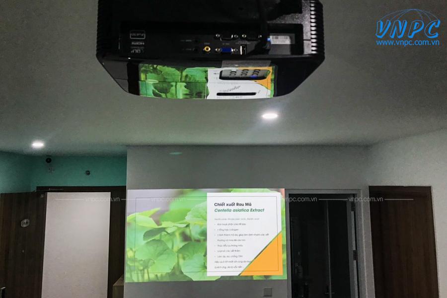 Lắp đặt máy chiếu Optoma PX390 tại văn phòng chung cư D-Vela
