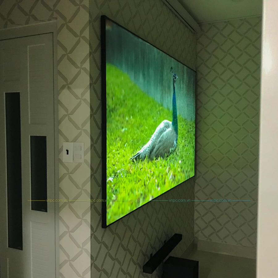 máy chiếu Euro chất lượng cao Optoma PW450 & Màn chiếu khung