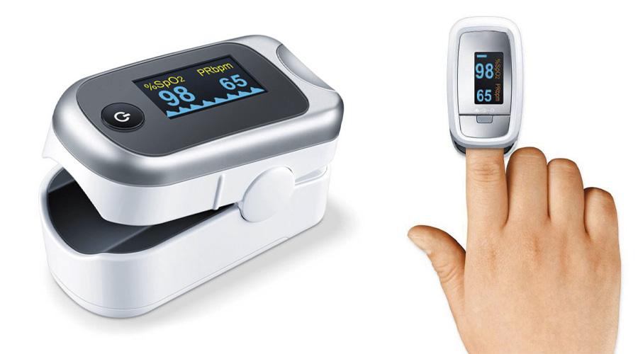 Tặng máy đo nồng độ oxy trong máu SPO2